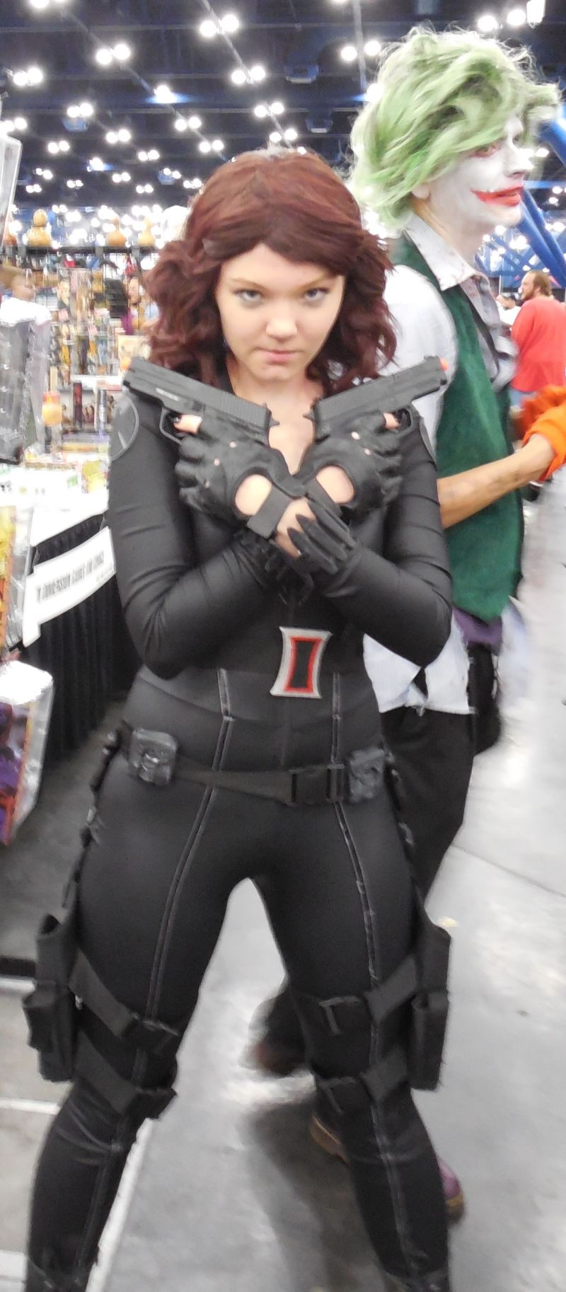 A Black Widow Fan!