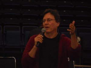 Richard Hatch at the Opening Ceremonies