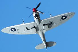 spitfire bottom view