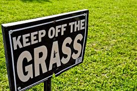 Keep off the Grass_flickr