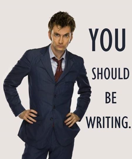 Tennant You Should Be Writing